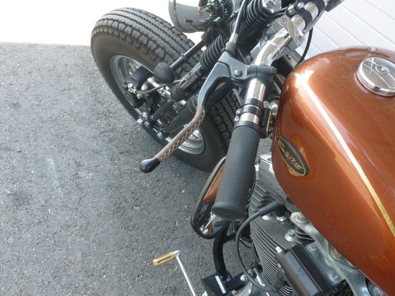 Kreative Verkleidung für den Motorradlenker